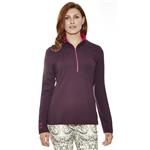Lizzie Driver Partridge Pullover - Purple