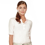 Lizzie Driver Coronation To-The-Elbow Sleeve Polo