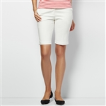 Lizzie Driver Clean Heart Bermuda Golf Short - White