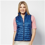 Lizzie Driver Dutch Blue Quilted Vest