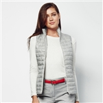 Lizzie Driver Inversion Quilted Vest - Grey