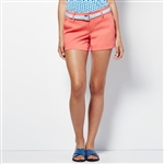Lizzie Driver Morning Glory Golf Shorts  - Coral