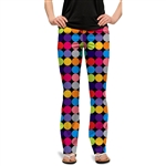 Loudmouth Golf Pant Disco Balls Black