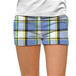 Loudmouth Golf Mini Short Blueberry Pie