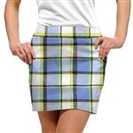 Loudmouth Golf Skort Blueberry Pie