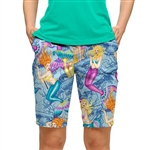 Loudmouth Golf Short Pearl Divers