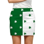 Loudmouth Golf Skort Shamrocks II