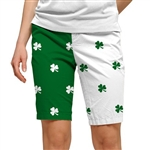 Loudmouth Golf Short Shamrock II
