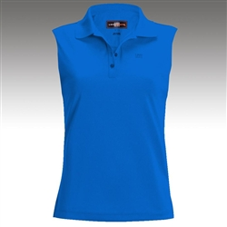 Loudmouth Golf Ladies Essential Sleeveless Polo