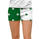 Loudmouth Golf Mini Short Shamrocks II