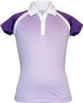 Garb Linley Short Sleeve Purple Polo