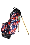 Loudmouth Golf Bag Betsy Ross