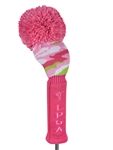 LPGA Knit Driver Headcover - Pink Passion