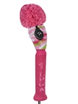 LPGA Knit Hybrid Headcover - Pink Passion