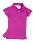 Garb Monica Girls Golf Polo - Rose