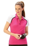 Nancy Lopez Secret Short Sleeve Polo
