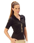 Nancy Lopez Attract Short Sleeve Polo