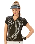 Nancy Lopez Dance Short Sleeve Polo