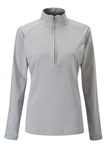 PING Carmel 1/2 Zip Stretch Pullover - Silver Marl