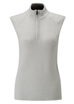 PING Sofia 1/2 Zip Pullover Vest - Mineral