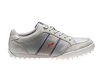 Puma Women's Monolite Cat Mesh Golf Shoe - Grey/Violet/Denim