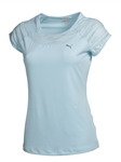 Puma Mesh It Up Fitness Tee - Omphalodes