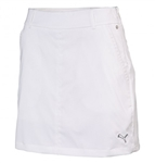 Puma Women's Tech Solid Golf Skort White