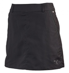 Puma Women's Tech Solid Golf Skort Black