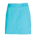 Puma Women's Tech Solid Golf Skort Scuba Blue