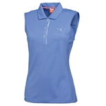 Puma Women's Tech Sleeveless Polo - Ultramarine