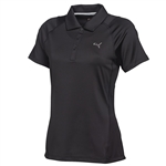 Puma Women's Titan Tour Golf Polo - Black
