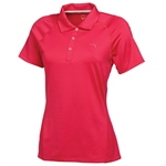 Puma Women's Titan Tour Golf Polo - Raspberry