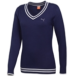 Puma Women's V-Neck Sweater