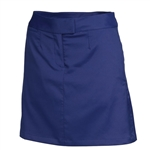 Puma Women's Solid Tech Golf Skort - Medieval Blue