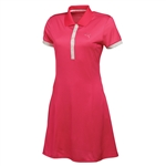 Puma Women's Golf Tech Dress - Raspberry