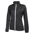 Puma Women's Golf Rain Jacket- Black