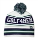 Golf4Her Pukka Knit Hat with Cuff - White