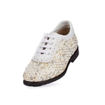 Aerogreen Costa Ladies Golf Shoe - Silver Multi/ White
