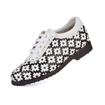 Aerogreen Erba Ladies Golf Shoe - White/ Black