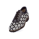 Aerogreen Erba Ladies Golf Shoe - Black/ White