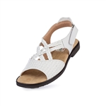 Aerogreen Salerno Ladies Golf Sandal - White
