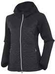 Sunice Elsa Thermal Stretch Hooded Jacket -Black/Black
