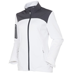 Sunice Bianca Full Zip Stretch Jacket - Pure White