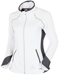 Sunice Esther Lightweight Stretch Jacket - White/Charcoal