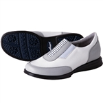Sandbaggers Allison Gray Slip On Golf Shoe