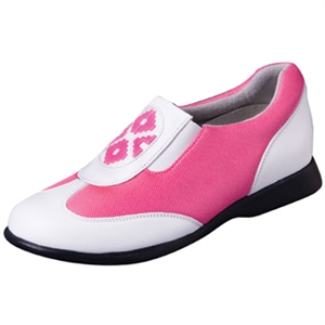 Sandbaggers Fuchsia Mango Ladies Golf Shoe