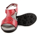 Sandbaggers Carrie Red Golf Sandal