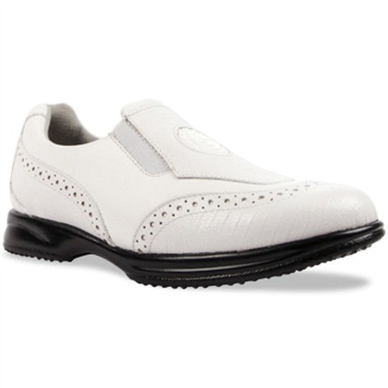 Sandbaggers Madison White Ladies Golf Shoe