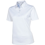 Sunice Silver Cara Golf Polo Ice