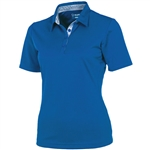Sunice Silver Cara Golf Polo Collegiate
